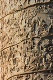 Coluna de Trajan Fotografia de Stock