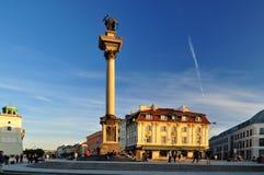 Coluna de Varsóvia fotografia de stock royalty free