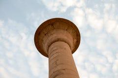 Coluna do céu imagem de stock