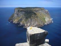 Coluna do cabo de Tasmânia da ilha de Tasman Imagem de Stock