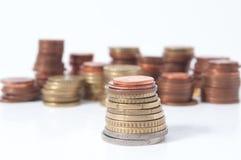 Coluna do centavo Fotografia de Stock