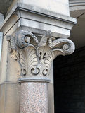 Coluna do Corinthian, interpretação Georgian, Perth, Escócia Imagens de Stock Royalty Free