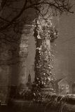 A coluna do Decrepitude Imagem de Stock Royalty Free