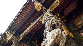 A coluna do dragão fotografia de stock