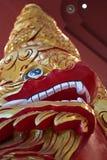 Coluna do dragão Fotos de Stock