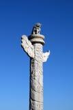 Coluna do dragão de China Imagem de Stock