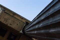 Coluna do museu velho em Berlim fotos de stock royalty free