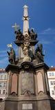 Coluna do praga Fotos de Stock