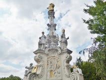 Coluna do praga Fotografia de Stock Royalty Free