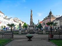 Coluna do praga em Kosice foto de stock