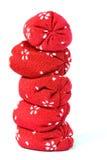 Coluna do saco de feijão Fotografia de Stock