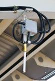 A coluna do sinal do trem elétrico Foto de Stock Royalty Free