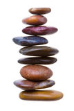 Coluna do zen Fotografia de Stock