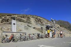 Coluna du Tourmalet Imagens de Stock