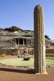 Coluna e caverna da rocha Foto de Stock Royalty Free