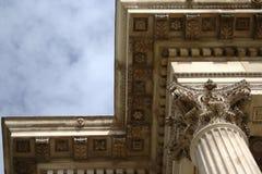 Coluna e Entablature do Corinthian Foto de Stock Royalty Free