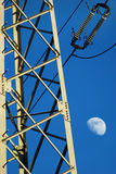Coluna elétrica Fotografia de Stock