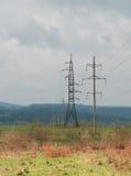 Coluna elétrica fotos de stock
