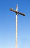 Coluna elétrica velha Imagens de Stock