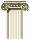 Coluna grega Fotos de Stock