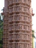 Coluna histórica e velha imagem de stock