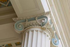 Coluna iónica fotos de stock royalty free