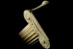 Coluna iónica velha Foto de Stock Royalty Free