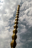 A coluna infinita Fotografia de Stock