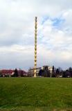 A coluna infinita foto de stock royalty free