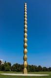 A coluna infinita - Coloana Infinitului Imagens de Stock Royalty Free