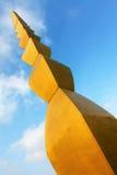 A coluna infinita de Constantin Brancusi Foto de Stock