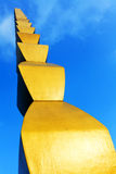 A coluna infinita de Constantin Brancusi Fotos de Stock