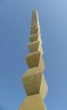 Coluna infinita de Constantin Brancusi, Tg Jiu, Romênia fotos de stock royalty free