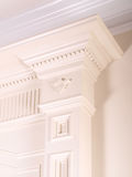 Coluna interior decorativa luxuosa Foto de Stock Royalty Free