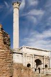 Coluna no fórum imagem de stock royalty free