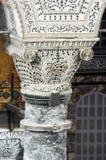Coluna no Hagia Sófia imagens de stock royalty free