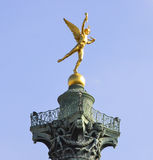 Coluna Paris de julho fotografia de stock