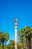 Coluna persa em Buenos Aires, Argentina fotografia de stock royalty free