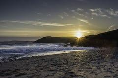Coluna Reino Unido de Sun fotografia de stock royalty free