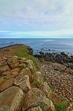 Coluna Ridge do basalto da calçada de Giants Imagens de Stock Royalty Free