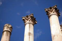 Coluna romana em Córdova foto de stock royalty free