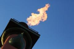 Coluna Rostral iluminada Foto de Stock Royalty Free