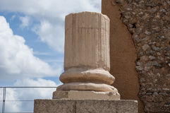 Coluna ruinoso Fotos de Stock