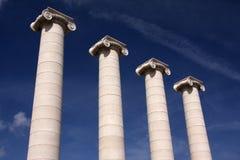 Colunas Foto de Stock