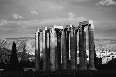 Colunas altas em Veneza imagens de stock royalty free