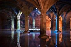 Colunas bonitas Imagens de Stock Royalty Free