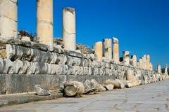 Colunas caídas Fotografia de Stock Royalty Free
