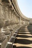 Colunas - Capitólio do estado de Wisconsin em Madison Foto de Stock Royalty Free