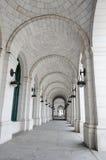 Colunas da estação da união no Washington DC EUA Imagem de Stock Royalty Free