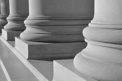 Colunas da lei Fotos de Stock